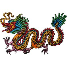 Iron On Embroidered Chinese Dragon Patch / Sew On Badge for T Shirts Bags Crafts  Size  11.5 cm Width and 7.5 cm Height.  How to Iron on a Patch  1. Lay your cloth on a flat, heat-resistant surface like an ironing board. To ensure the item will provide a good surface for the patch, iron it first. If its a backpack or another item thats difficult to iron, do your best to arrange it so that the part of the fabric that will be receiving the patch is flat against a hard surface.  2. Place th...