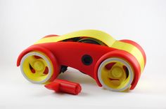 Dual Mode Windup Car by jonas.h #toysandgames