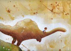 Dinosauro e Bambino