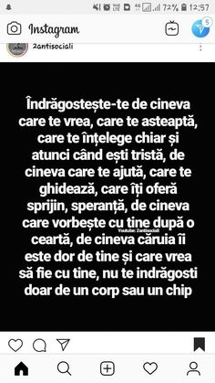 Indragosteste-te de cine te MERITA! Little Do You Know, Love You, My Love, Motivational Words, Inspirational Quotes, Let Me Down, Inspiring Quotes About Life, Cool Words, Love Quotes