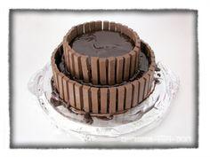 Kit-Kat birthday cake
