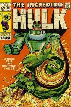 Incredible Hulk Comic Book Covers | Incredible Hulk Vol 1 #113