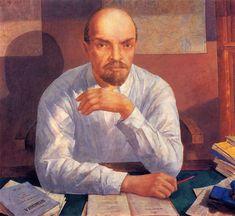 LENIN, Kuzma Petrov-Vodkin (1878~1939)
