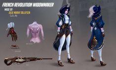 "Renaissance Widowmaker ""FAN SKIN"" - News for pro overwatch Overwatch Widowmaker, Genji Overwatch, Overwatch Memes, Overwatch Fan Art, Overwatch Comic, Overwatch Skin Concepts, Overwatch Costume, Steampunk Armor, Game"
