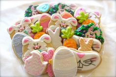 What is more fun on Easter than to have an Easter platter like this!