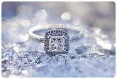 Melanie Bennett Photography- Drayton Valley Photographer Ice Castle Engagement Winter Engagement Photos