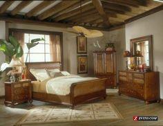 Rustic Island bedroom