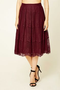 Contemporary Lace Skirt