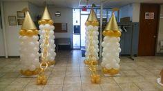 Balloon castle drawbridge  Credit: C-MY Style Event Planning LLC