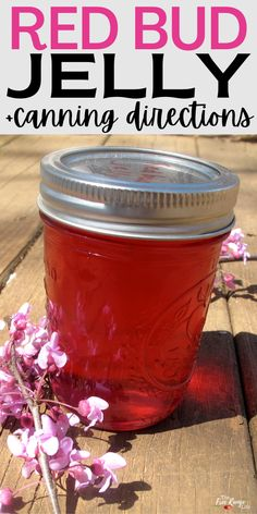 Did you know you can make your own jelly from flowers around your yard? You can make your own floral jelly using blooms from around your yard- even some trees! Learn how to make redbud jelly, including canning instructions. This easy jelly recipe is perfect for beginning canners- and uses water bath canning
