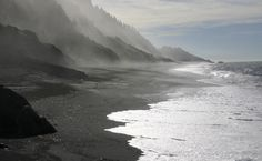 The Lost Coast in Northern California.