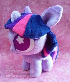 MLP FiM: Twilight Ponydoll by sugarstitch.deviantart.com on @deviantART