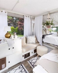 How To Set Up a Glamper and Go Glamping - zevy joy...