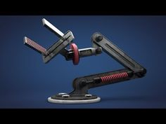 Robotic Arm -- Cinema 4D Tutorial - YouTube