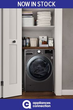 27 Inch Smart Washer/Dryer Combo with 4.5 cu. ft. Capacity, Wi-Fi Enabled, 14 Wash Cycles, 1300 RPM, Ventless, TurboWash, 6Motion Technology, ColdWash, NeveRust Stainless Steel Drum, SmartThinQ Works with Google Assistant/Amazon Alexa, 10 Year Warranty on Direct Drive Motor, TrueBalance, WiFi Connect, Child Lock, Cold Wash Cycle, SmartDiagnosis, Allergiene Cycle, SenseClean System in Black Steel Stacked Washer Dryer, Laundry Decor, Laundry Room Design, Laundry Appliances, Home Appliances, Stainless Steel Drum, Wifi Connect, Front Load Washer