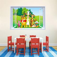 Winnie The Pooh Peel and Stick Wall Decals – the treasure thrift