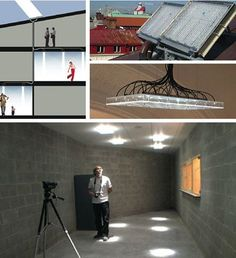 A reader writes: I have a loft with a southern exposure and only 2 1/2 windows, it is a long space extending back from the windows and the area farthest away can get quite dark, especially if the sun isn't shining. What can I do to get natural light