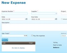 Manage your expenses and payments