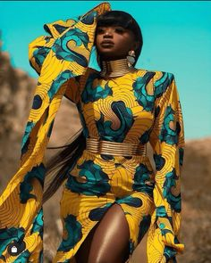african fashion women ghana African traditional outfits are vibrant and simply beautiful. This board covers: African print African Prom Dresses, African Dresses For Women, African Attire, African Fashion Dresses, African Wear, African Clothes, African Style, Ankara Short Gown Styles, Trendy Ankara Styles