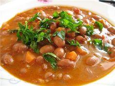 Суп с сухой фасолью рецепт