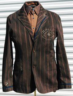 The Alchemist Mens Steampunk Jacket Medium by OLearStudios on Etsy, $58.00
