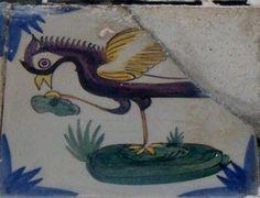 Azulejos na minha Terra: 23- Flor + Peixe,10º e 11º Azulejos de Painel em Monserrate