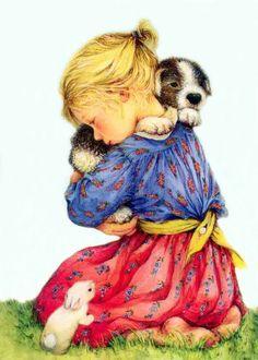 Художница Lisi Martin ( детки, кошечки-собачки). Обсуждение на LiveInternet - Российский Сервис Онлайн-Дневников