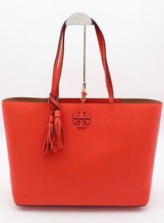 Details About Nwt Tory Burch Mcgraw Pink Leather Fold Over Crossbody Shoulder Bag New 398