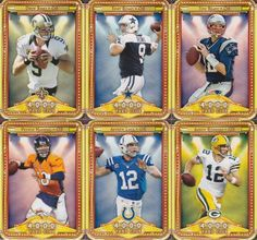 2013 Topps NFL Football 4000 Yard Club Series Complete Mint 10 Card Insert Set