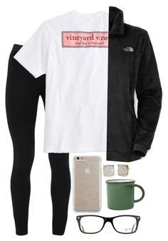"""""""thanksgiving eve!!"""" by miss-noelle ❤ liked on Polyvore featuring Peace of Cloth, Vineyard Vines, The North Face, Case-Mate, Kate Spade, Celestial Seasonings, canvas and Ray-Ban"""