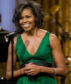 Michelle Obama - the first black first lady