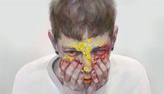 Digital paintings by Japanese artist YDK Morimoe aka Hi. More images below.             YDK Morimoe on Tumblr