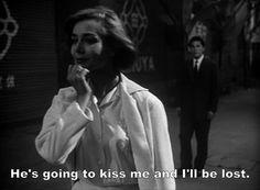 Emmanuelle Riva in HIROSHIMA MON AMOUR dir. by Alain Resnais (1959)