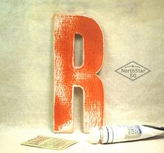 Vintage Style Rustic Wooden Letter R by Northstar50 on Etsy, $14.00