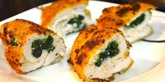 Chicken Stuffed with Spinach and Feta Cheese - Chefling Tales Pula, Clean Eating, Healthy Eating, Healthy Food, Yummy Food, Slim Diet, Slimming Recipes, Spinach And Feta, Cooking Recipes