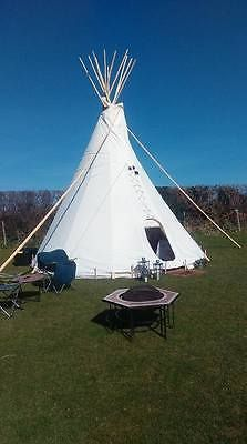 Tipi #camping #glamping #holiday- 2 night short break devon - july & august dates,  View more on the LINK: http://www.zeppy.io/product/gb/2/322189298598/