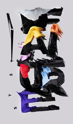 System failure by Kleev —Thierry Schlegel, via Behance