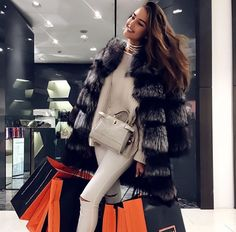 Luxury Lifestyle Marketing: 3 Ways to Appeal to the Lifestyle . Fur Fashion, Fashion Wear, Winter Fashion, Fashion Outfits, Womens Fashion, Luxury Lifestyle Fashion, Luxury Fashion, Luxe Life, Mode Outfits