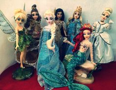 My ooak disney store doll creations   Flickr - Photo Sharing!
