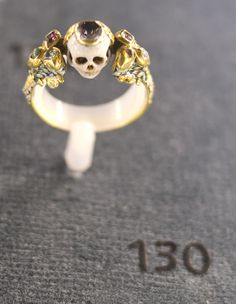 """Morbid Anatomy: """"It is a Great Art to Die Well"""" : Memorial Rings at Oxford's Ashmolean Museum from the blog spot Morbid Anatomy at http://morbidanatomy.blogspot.com/2013/08/it-is-great-art-to-die-well-memorial.html"""