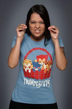 Camiseta ThunderPets