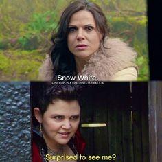 "#OnceUponATime 4x22|4x23 - ""Operation Mongoose"" - Regina and Snow White"
