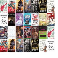 """Wednesday, June 8, 2016: The Northern Onondaga Public Library has 19 new bestsellers and one other new book in the Top Choices section.   The new titles this week include """"Good Times!,"""" """"End of Watch: A Novel,"""" and """"13 Hours: The Secret Soldiers of Benghazi."""""""
