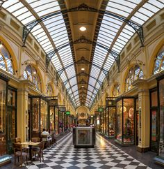 Royal Arcade, Melbourne - Wikipedia, the free encyclopedia Melbourne Cbd, Melbourne Victoria, Melbourne Australia, Victoria Australia, Arcade Architecture, Victorian Architecture, Australia Pictures, Public Realm, Street Mall