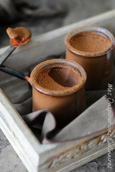 Petits pots de crème au chocolat, 2 ingredients