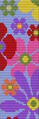 """The location where building and construction meets style, beaded crochet is the act of using beads to decorate crocheted products. """"Crochet"""" is derived fro Seed Bead Patterns, Beaded Jewelry Patterns, Beading Patterns, Stitch Patterns, Cross Stitch Borders, Cross Stitch Flowers, Beaded Embroidery, Cross Stitch Embroidery, Beaded Banners"""