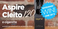 Aspire Cleito 120 Giveaway: Enter in Seconds!