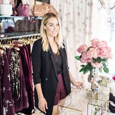 look who we spotted working the #lcrunway pop up  if you live in southern caifornia, we'd love to see you! come by to shop with @laurenconrad at @americanabrand and see the beautiful collection in person. {shop the looks on lcrunway.com or by signing up for @liketoknow.it and double tapping this photo} http://liketk.it/2p9Fi #liketkit : @jessiburrone #LTKxNYFW