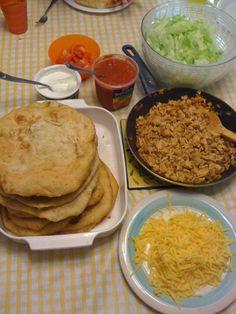 Navajo Tacos | http://newfanglednative.wordpress.com/2011/05/05/navajo-taco-recipe/