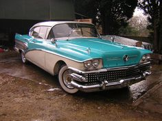 1958 Buick - love these old Buicks